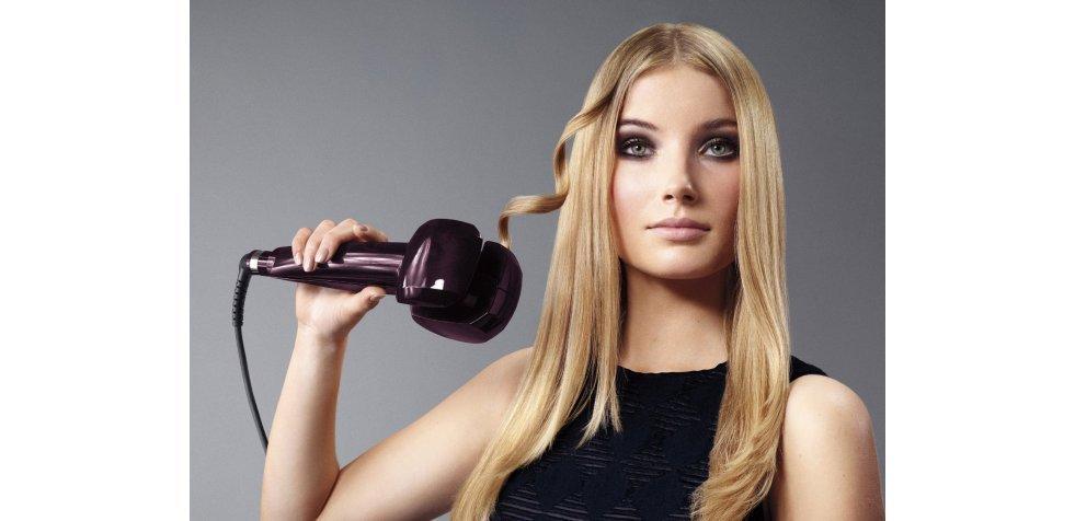 Как уложить волосы плойкой?